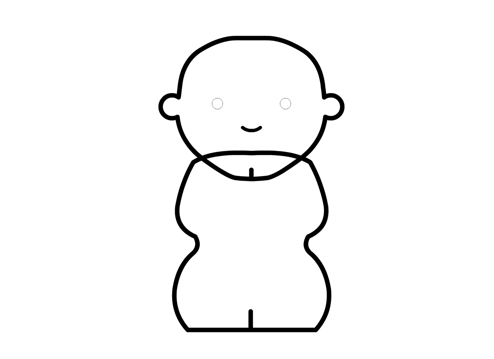 Female Body Outline Template