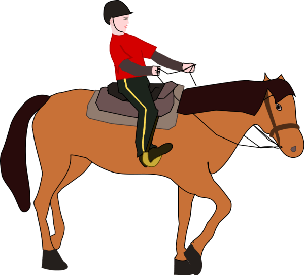 Horse Riding Clip Art