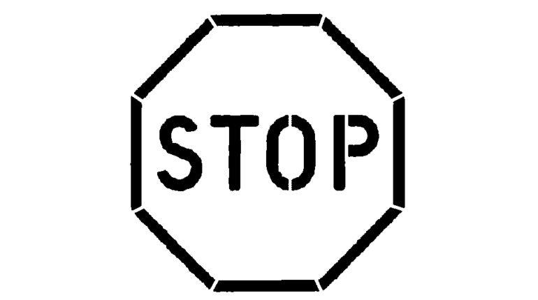 stop sign coloring page  photo gallery  gft coloring