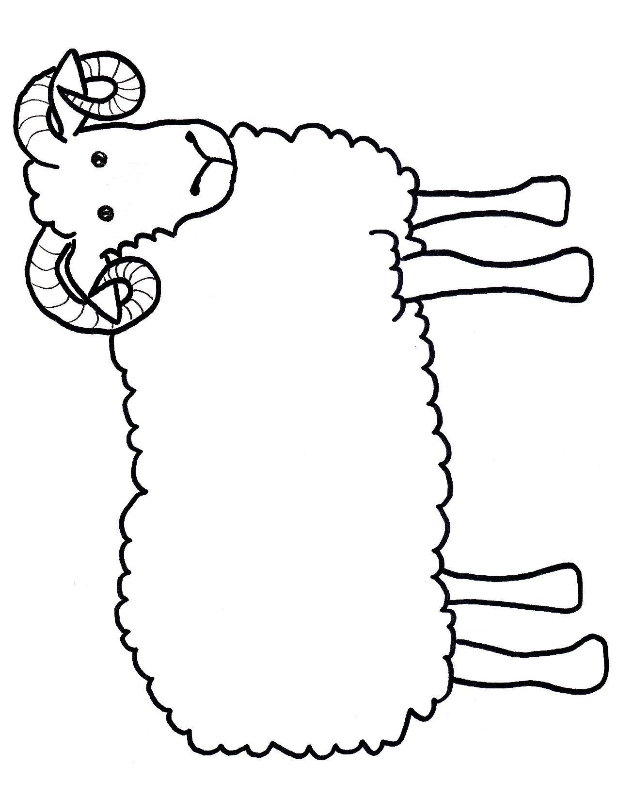 Black Sheep Outline