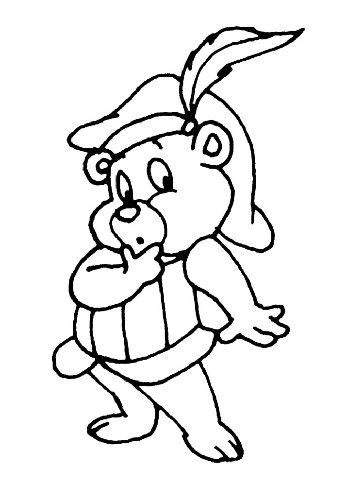 Free Gummy Bear Coloring Pages Download Free Clip Art