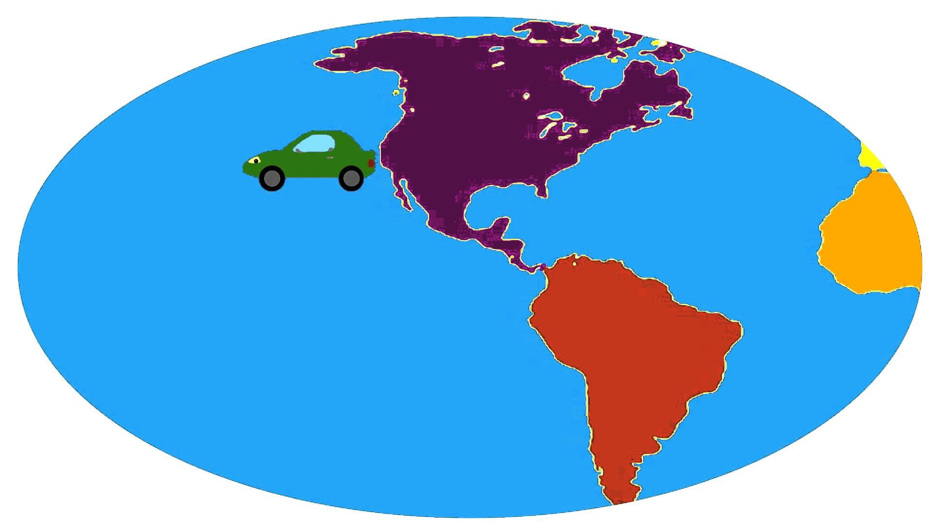 Cartoon Continents