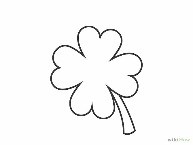 How to Draw a Shamrock 12 Steps (with Pictures) - wikiHow