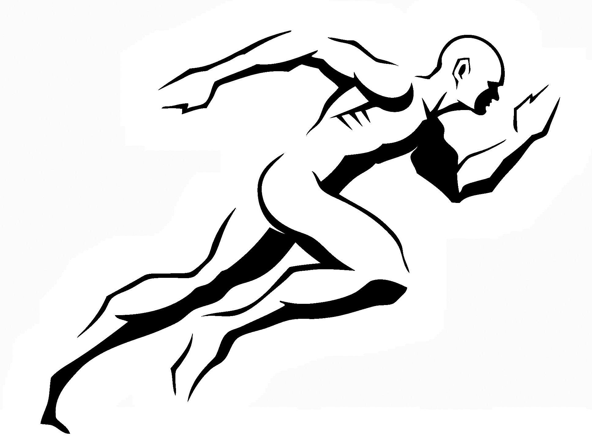 Logo With Running Man