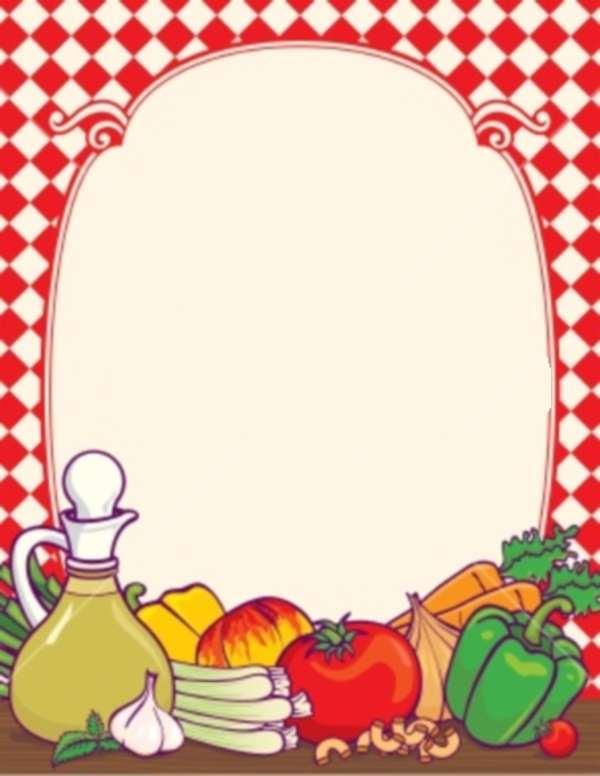 food borders - clipart