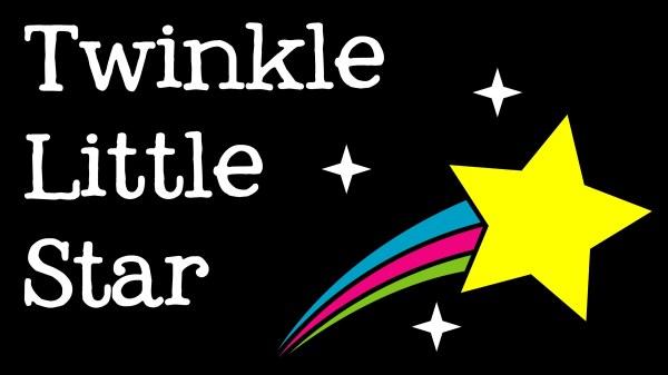 twinkle little star clip