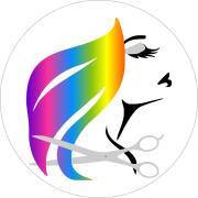 hair stylist logo - clipart