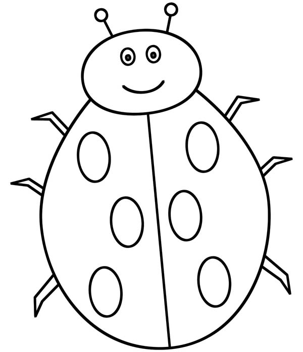 Free Ladybug Printable Pages Coloring Pages