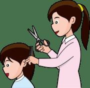 short hair clipart