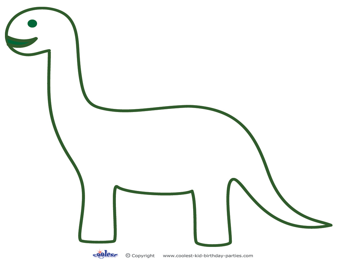 Printable Dinosaur Templates