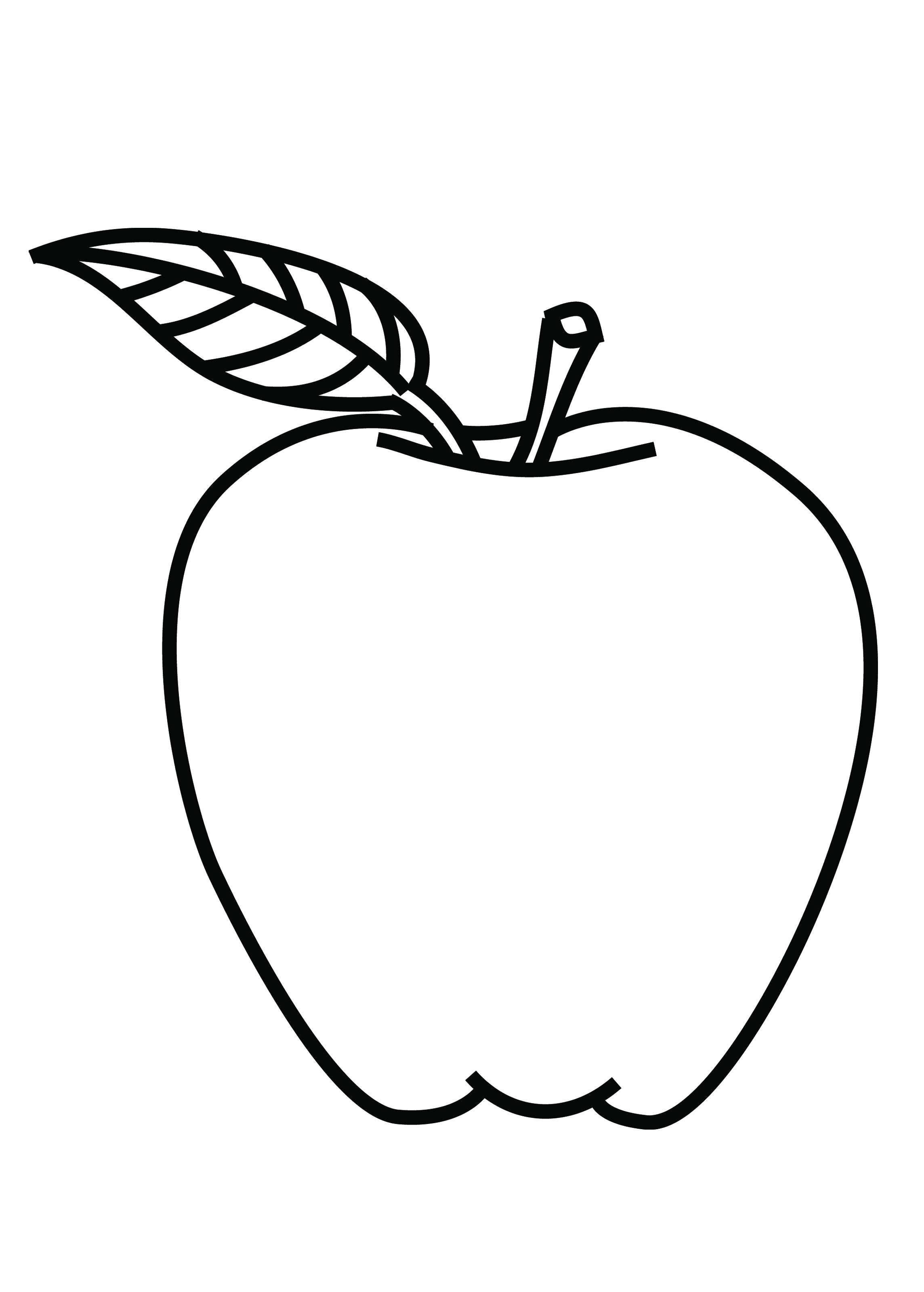 Apple Color Sheet Apples Coloring Pages Apples Fruit From