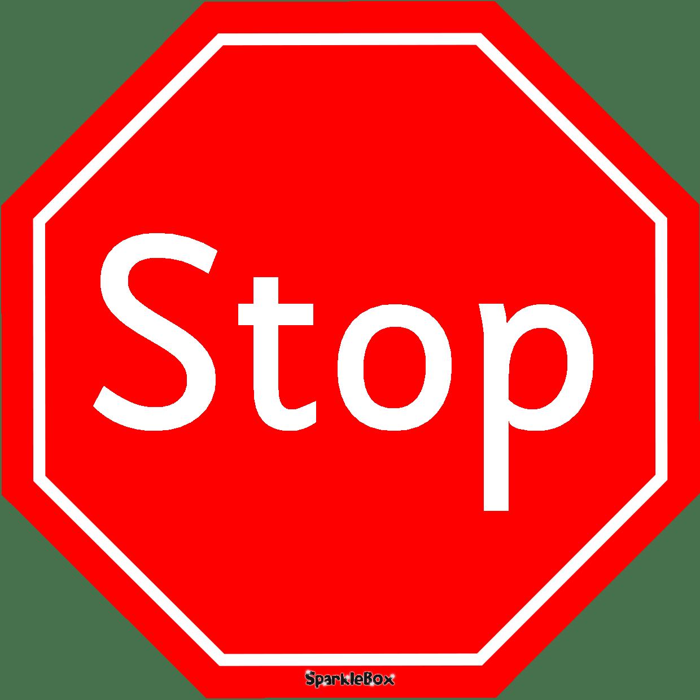 Free Printable Stop Sign