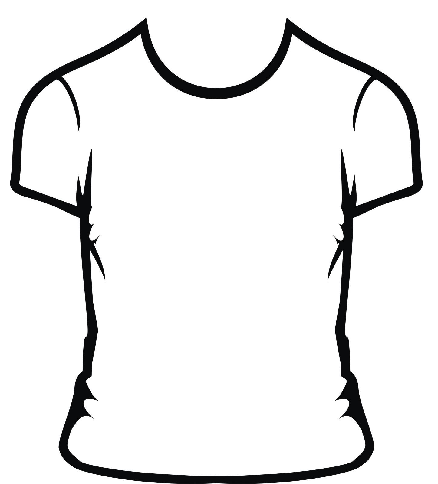 Plain White T Shirt To Draw On