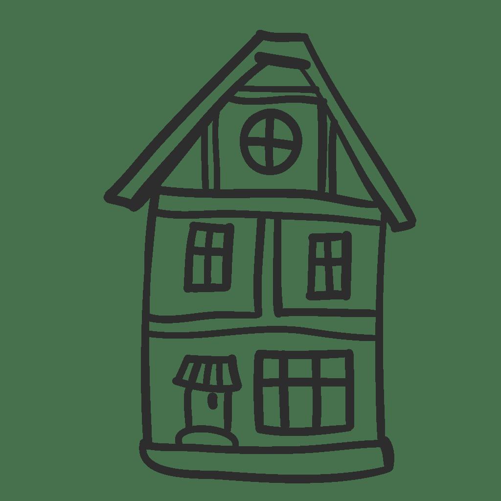 Doll House Cartoon