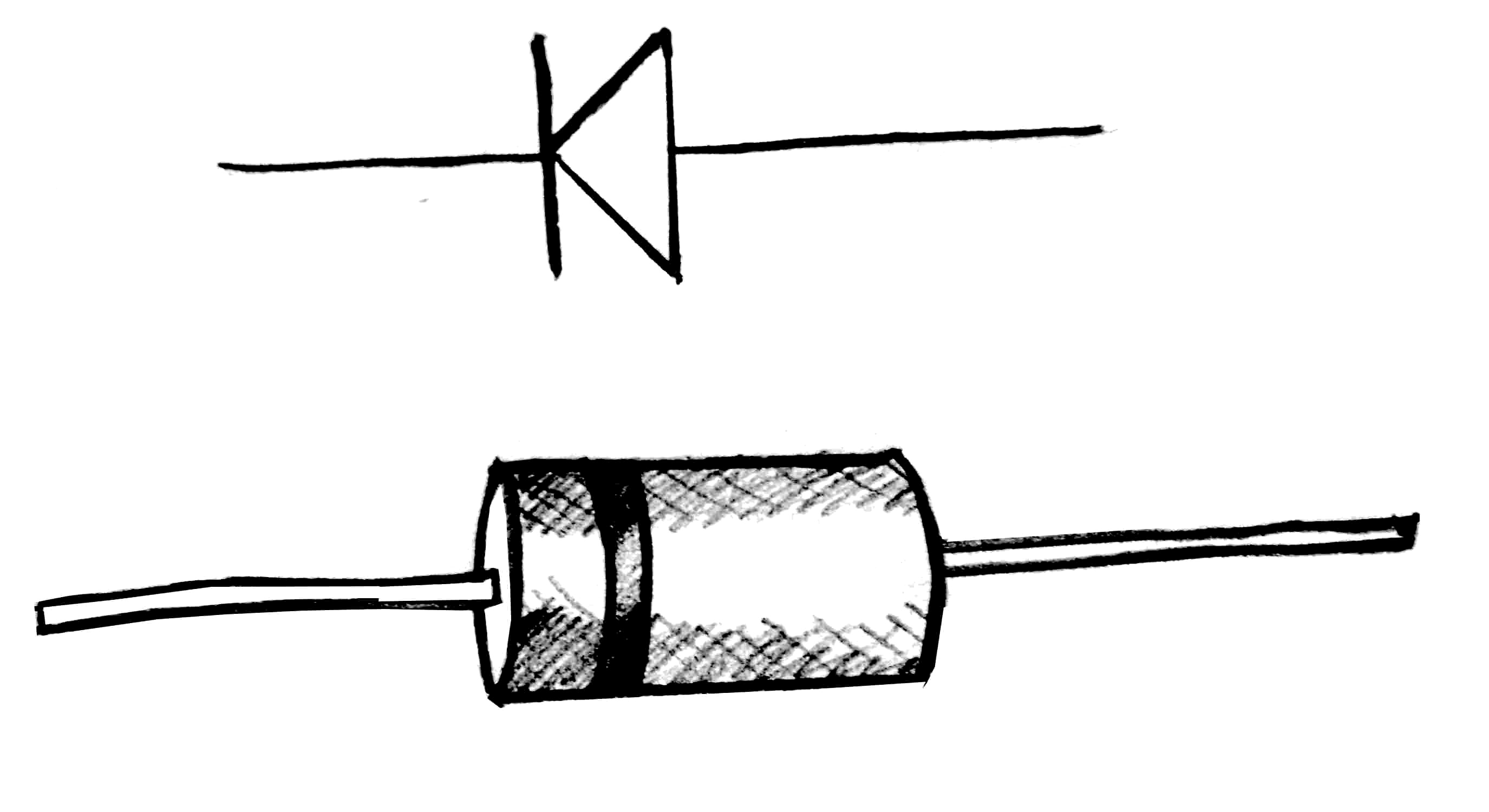 Electronic Symbol For Diode