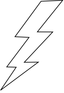 Thunderbolt Coloring Page Coloring Pages