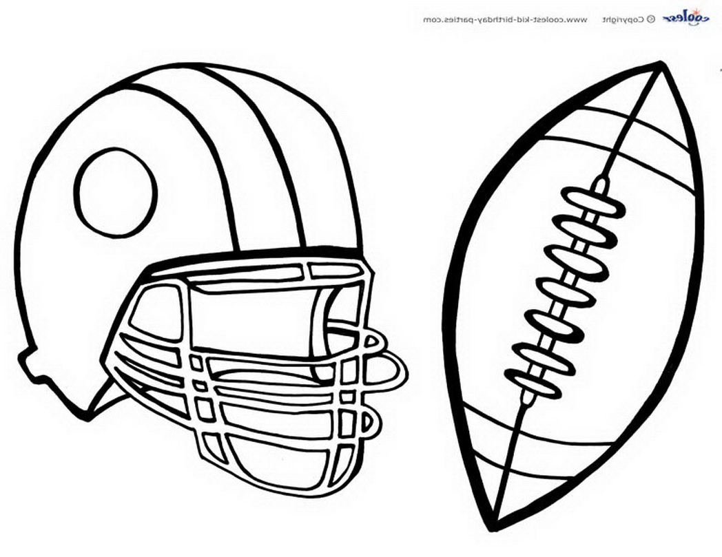 free-football-templates-print-499298 Â« Coloring Pages for