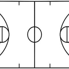Basketball Court Diagram For Coaches Steam Locomotive Parts Template & Printable ... - Clipart Best