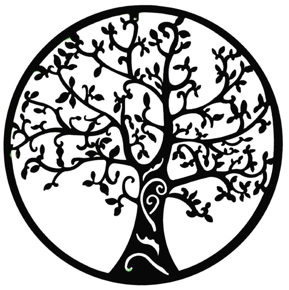 Simple Tree Of Life Drawing Ngorongub