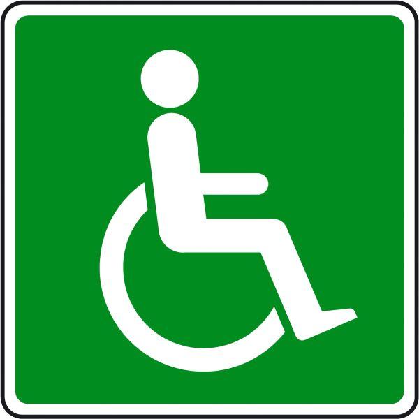 Wheelchair Symbol Clip Art