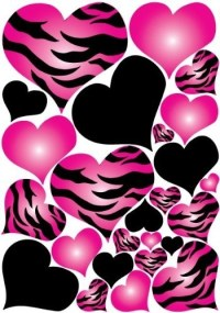 Hot Pink And Black Wallpaper Designs - ClipArt Best