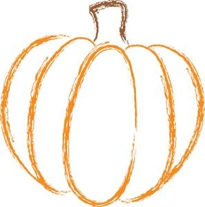 pumpkin clipart - orange