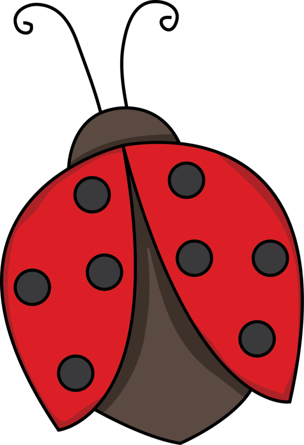 cute ladybird clipart