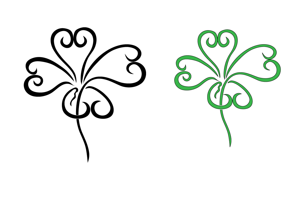 Four Leaf Clover Tattoos Four