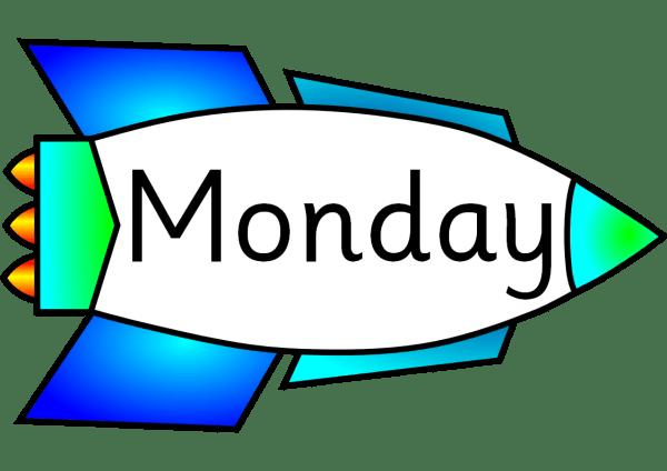 happy monday clip art - clipart