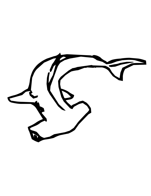Shark Stencil Printable