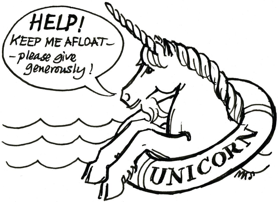 Pictures Of Cartoon Unicorns