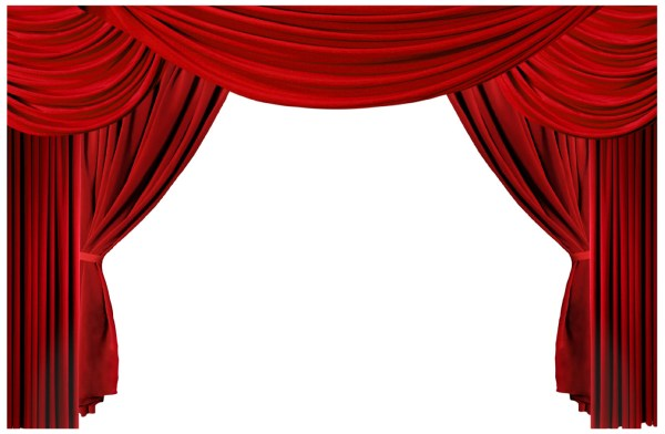 Theater Stage Curtains Border