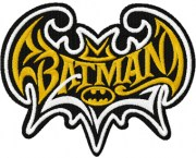 tribal batman - clipart