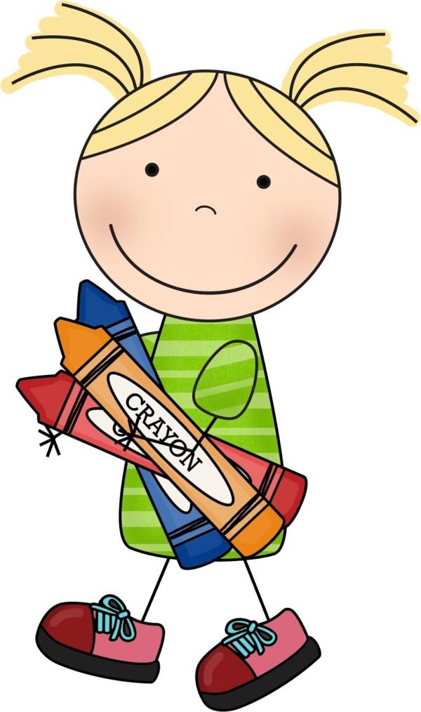 cute kid clip art - clipart