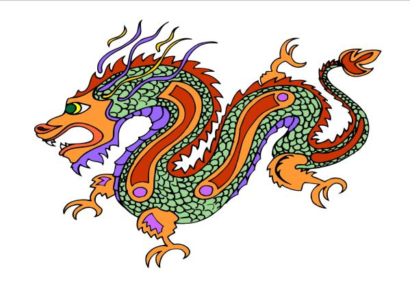 Chinese Dragon Face ClipArt Best