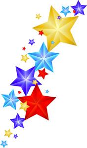 shining star clip art - clipart