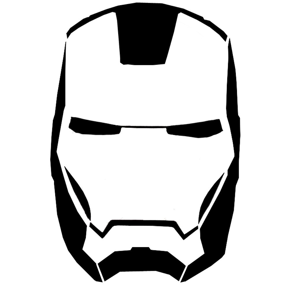 Ironman Cartoon Face