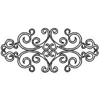 Simple Scroll Stencil | www.pixshark.com - Images ...