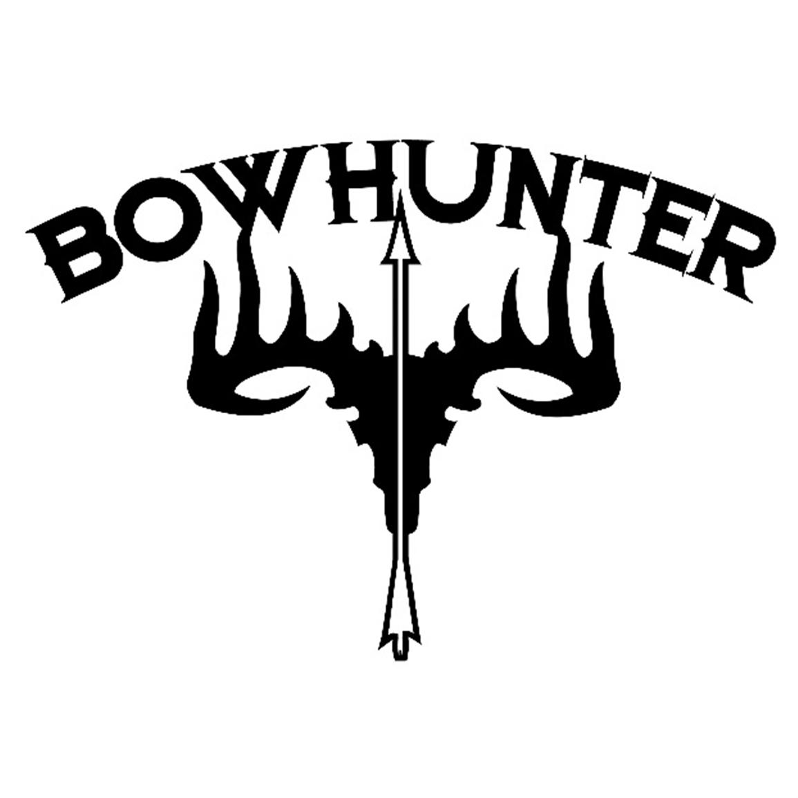Silhouette Of Bow Hunter