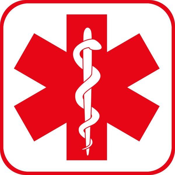 medical alert logo - clipart