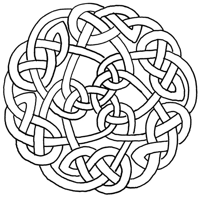 Celtic knots, Celtic and Vector free on Pinterest