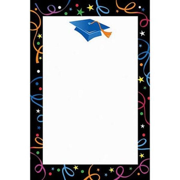 Free Graduation Border Clip Art