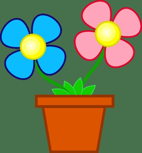 flower pot clip art - clipart