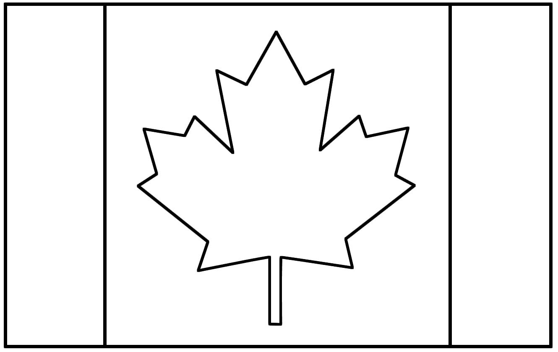 Flag Outline Template