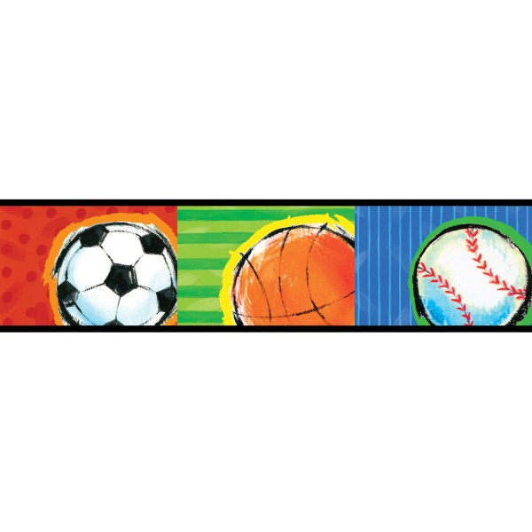 Powerpoint Sports Borders - Clipart