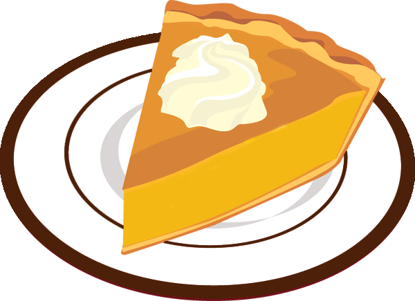 pumpkin pie clipart