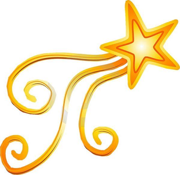 shooting star logos - clipart