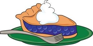 slice of pie cartoon - clipart