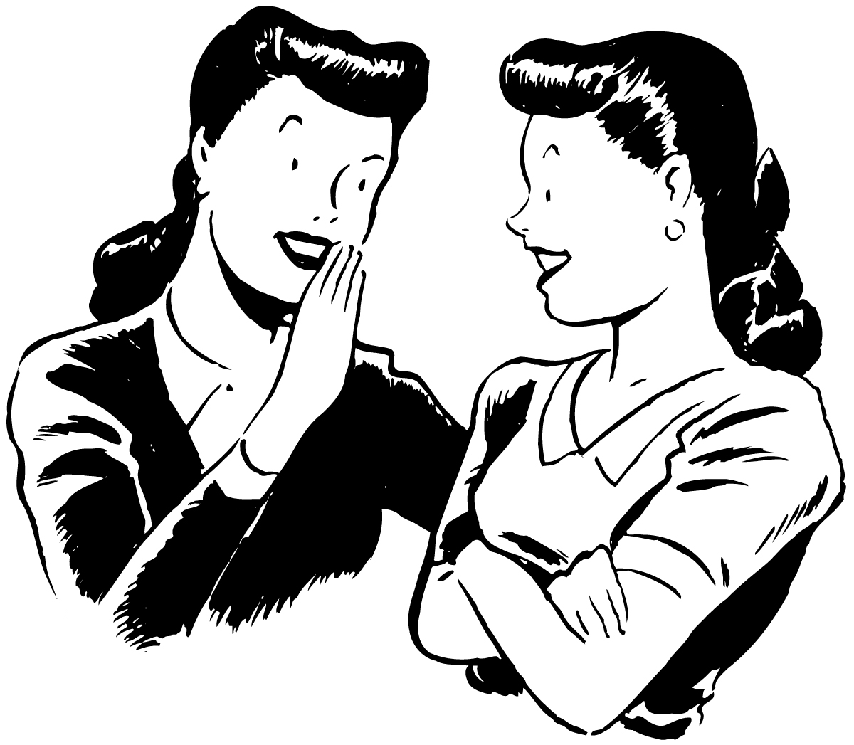 Clipart People Talking