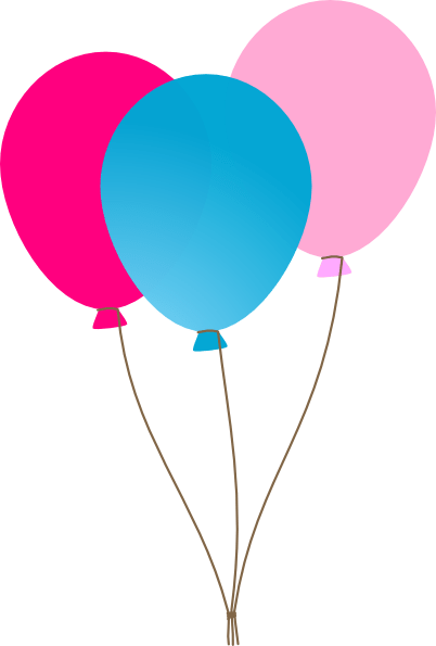 balloons cartoon - clipart
